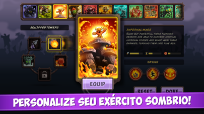 Screenshot for Kingdom Rush Vengeance in Brazil App Store