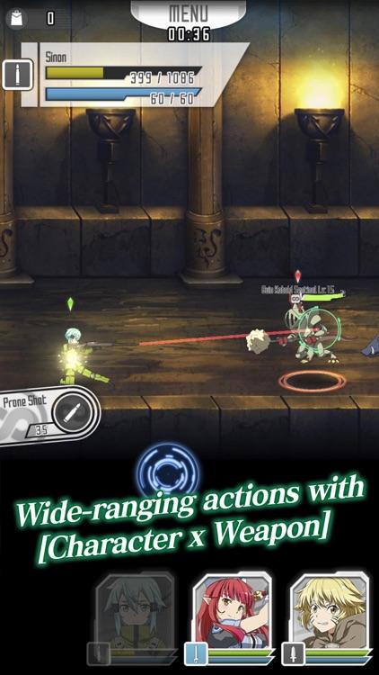 SWORD ART ONLINE Memory Defrag screenshot-3