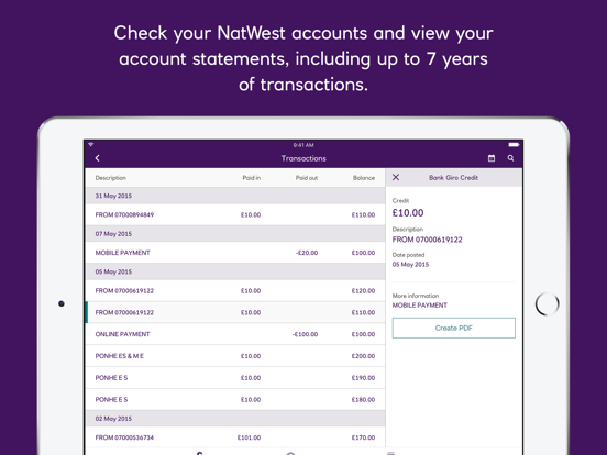 NatWest International by The Royal Bank of Scotland Group, plc (iOS