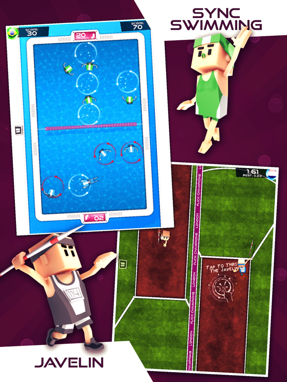 Flick Champions Summer Sports Screenshots