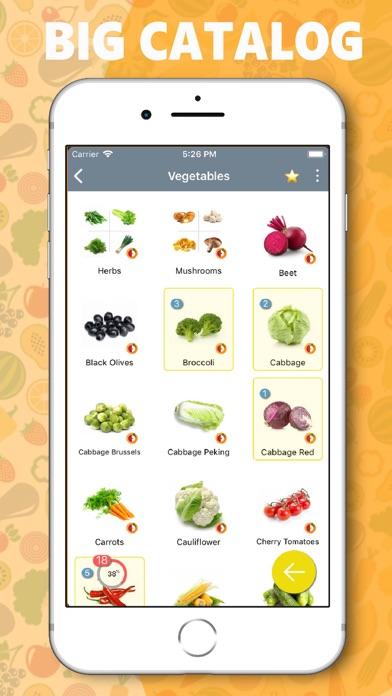 mLife: Grocery Shopping List Screenshot