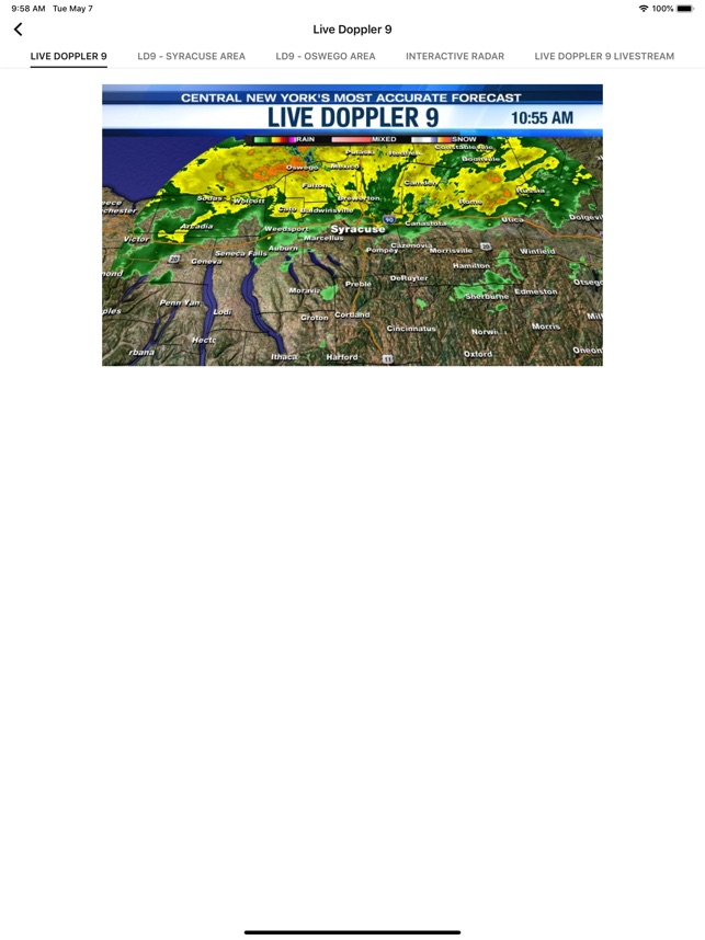 channel 9 weather syracuse ny
