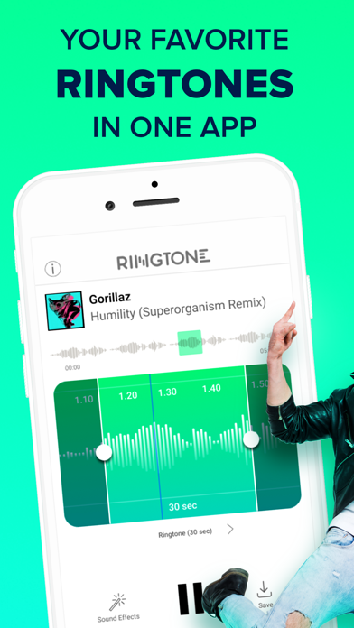 Ringtones for iPhone: melodizeのおすすめ画像1