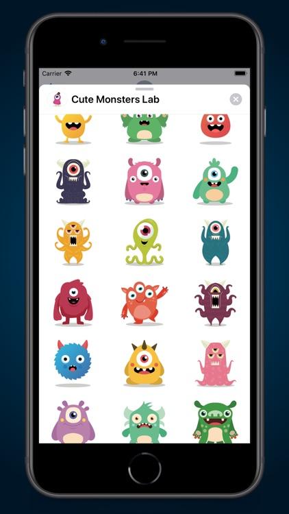 Cute Monsters Lab screenshot-4