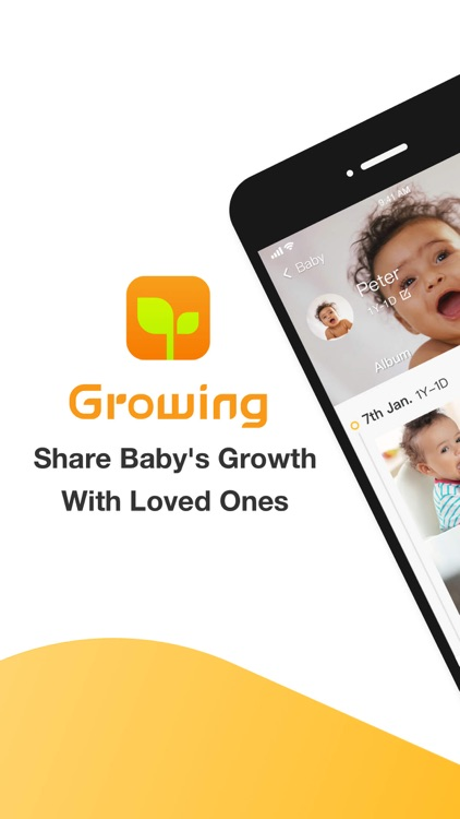 Growing-Baby Photo Sharing App