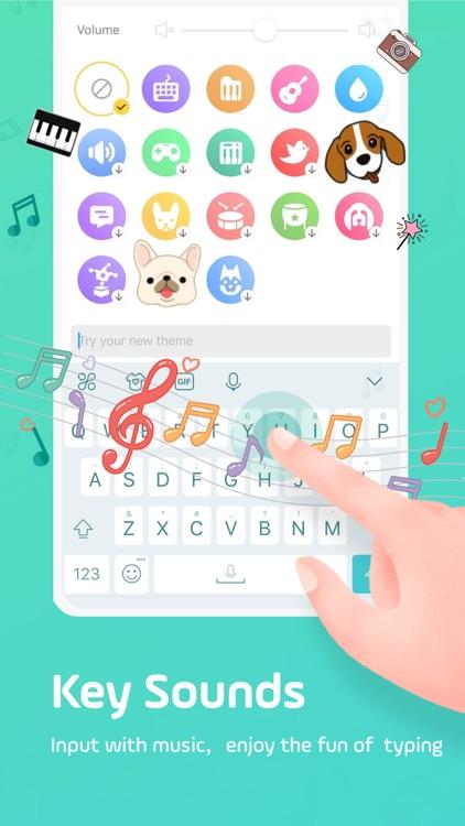 Facemoji Keyboard: Emoji&Fonts screenshot-4