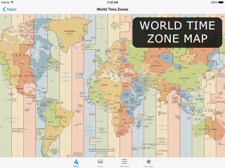 Atlas for iPad - Maps & Facts screenshot-4