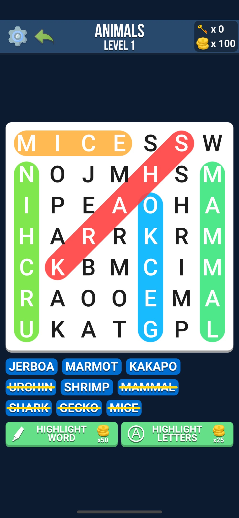 Word Search – Infinite Hunt Cheat Codes