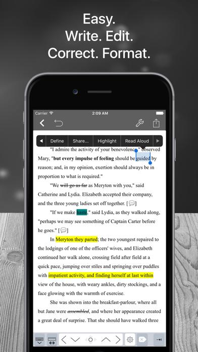 Скриншот №2 к Scrivo Pro− Scrivener Writers