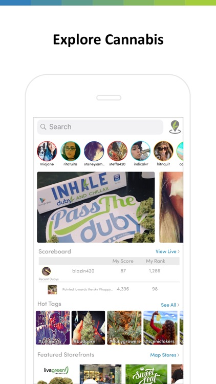 Duby - Weed Social Network