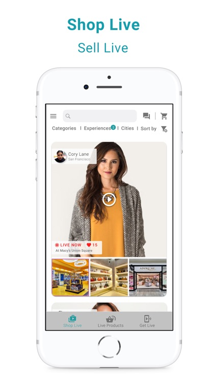 Shoclef - Live Stream Shopping screenshot-3
