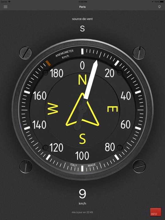 Screenshot #4 pour Anémomètre - Vitesse du vent