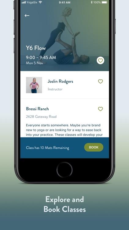 YogaSix screenshot-4