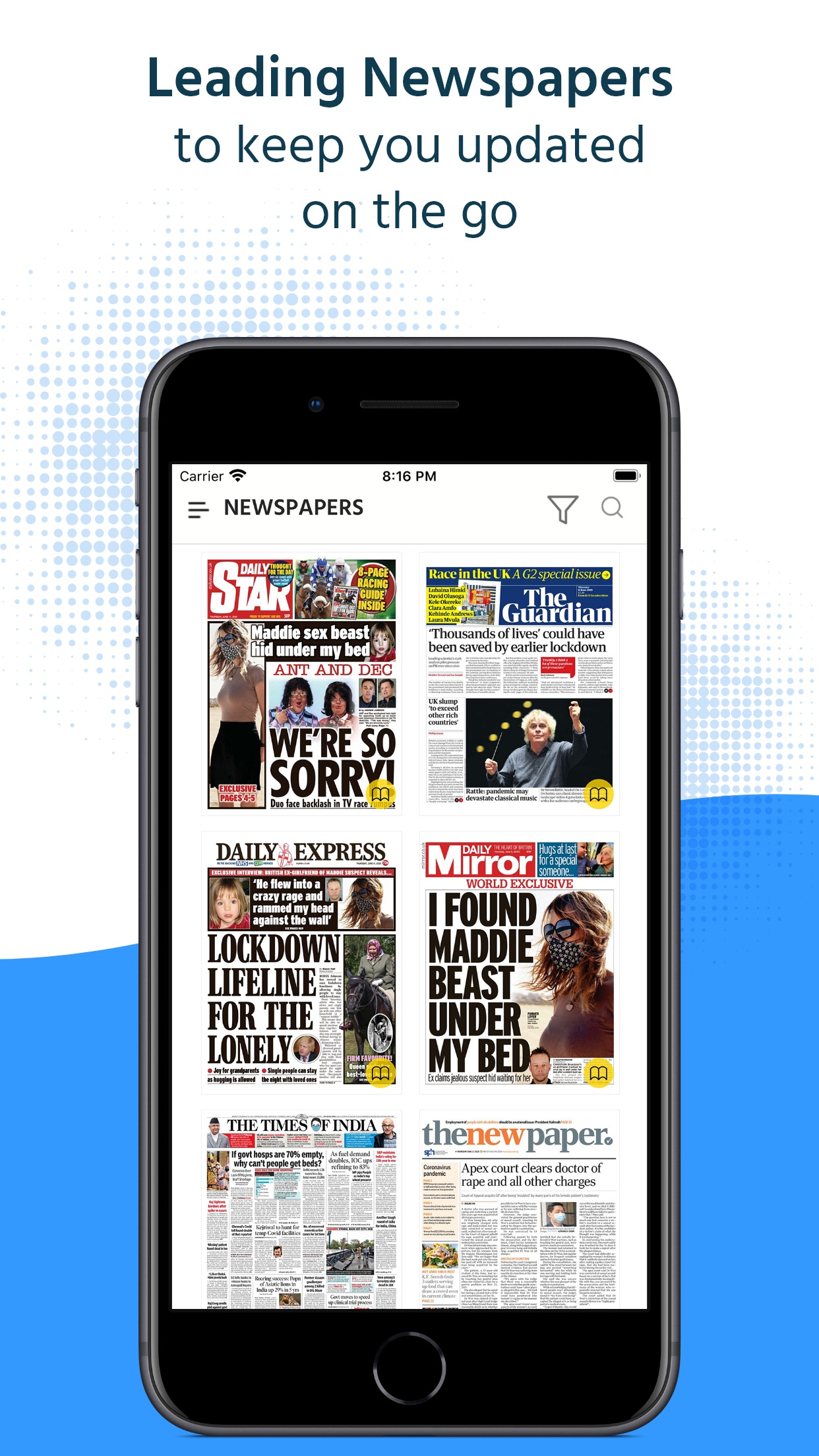 Magzter Newsstand Screenshot