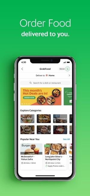 Grab App on the App Store