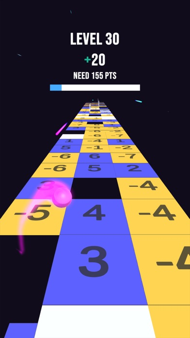 Number Tiles Jumper screenshot 2
