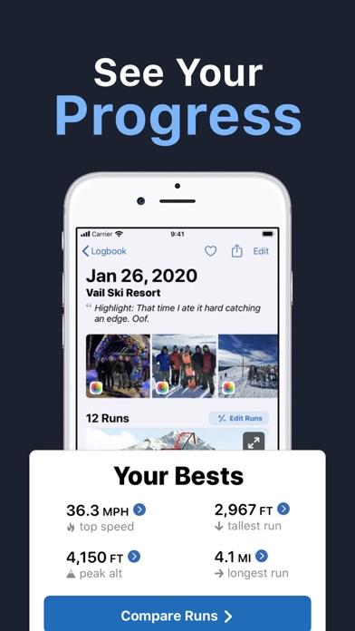 Slopes: Ski & Snowboard Screenshot