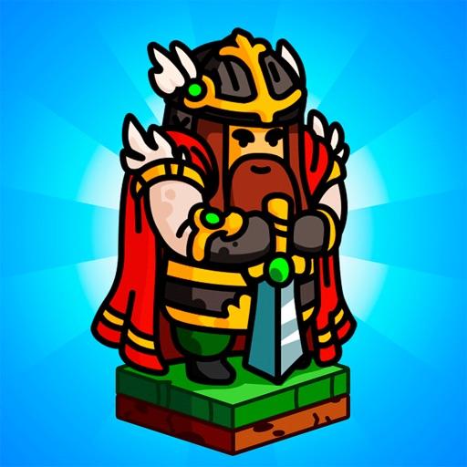 Grow Knights - битва за замки