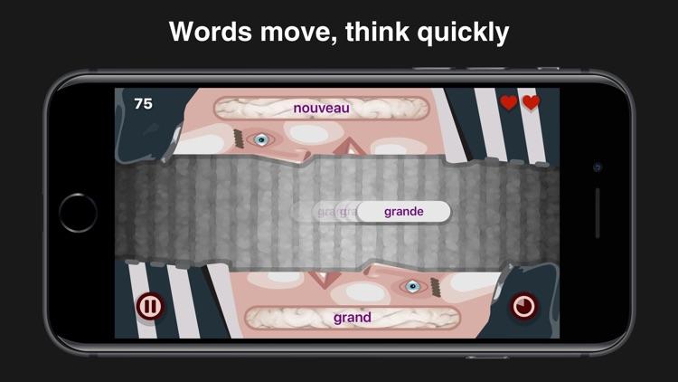 Wordeaters: Spanish & French screenshot-4