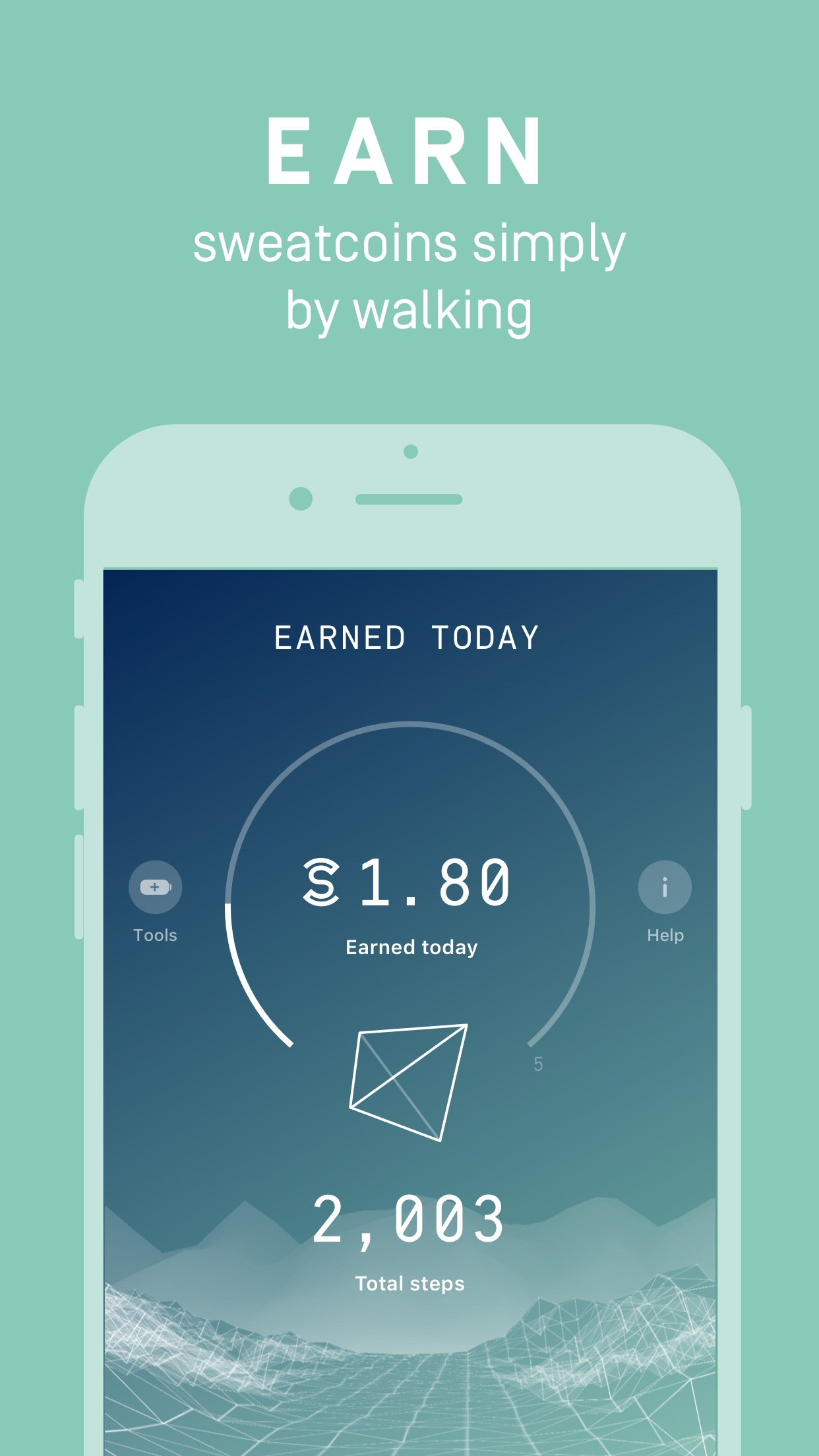 Sweatcoin - It Pays To Walk Screenshot
