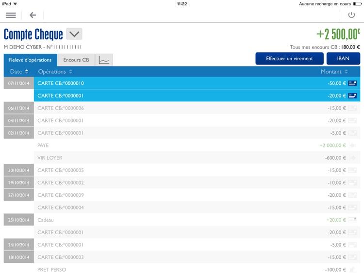Banque Populaire pour iPad