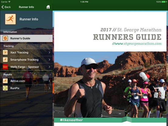 St. George Marathon screenshot