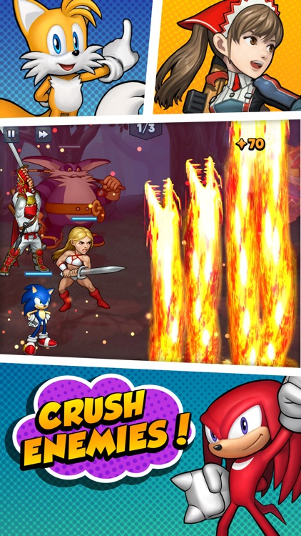 SEGA Heroes: Puzzle RPG Game screenshot-0