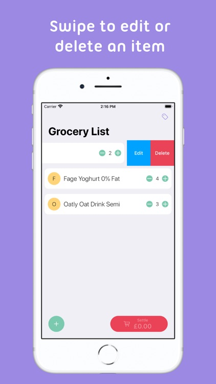 Mindy : Grocery List screenshot-4