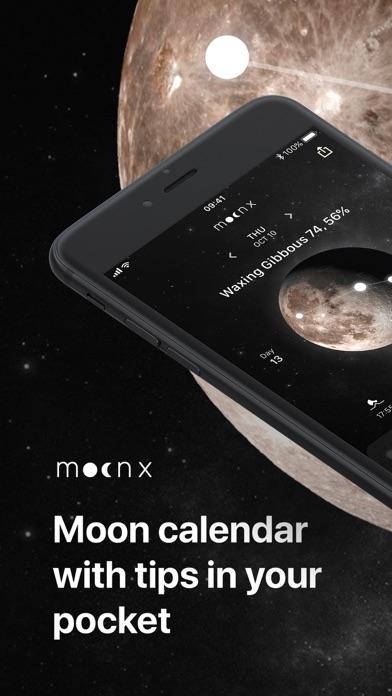 Moon Calendar and Moon Phases screenshot one