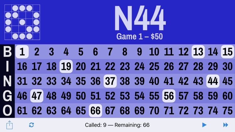 Bingo Board Digital Flashboard