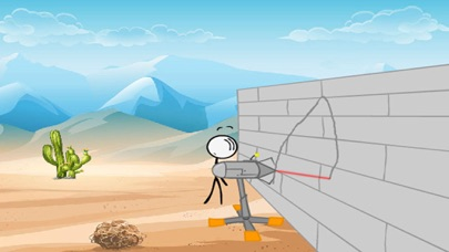 Break Into The Bank - Stickman screenshot one