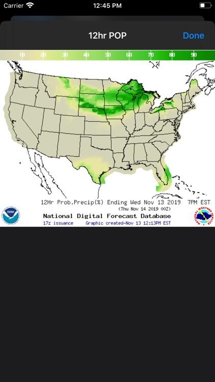 NOAA Weather Radar screenshot-7