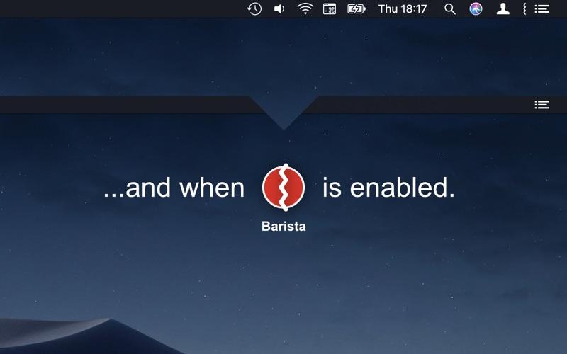 Barista for Mac