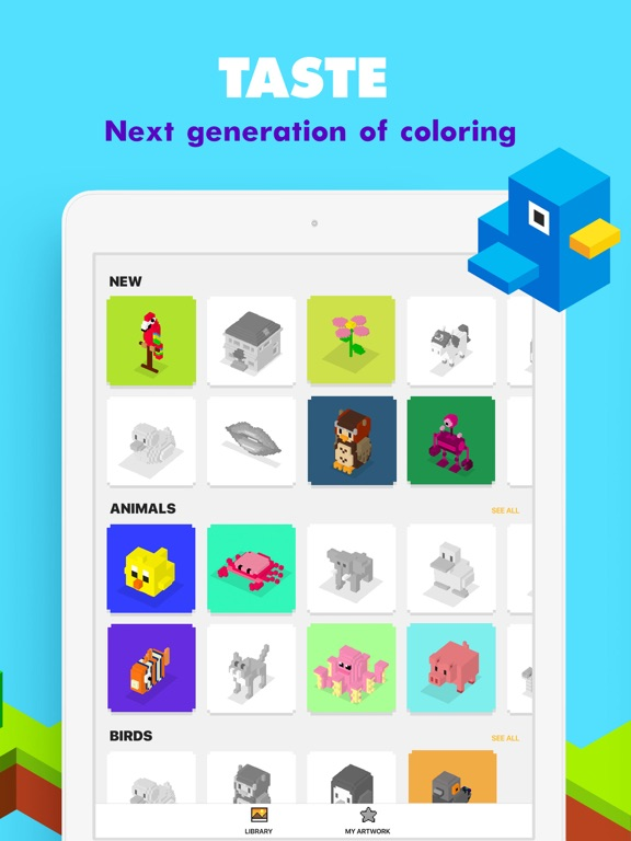 UNICORN 3D: Color by Number screenshot