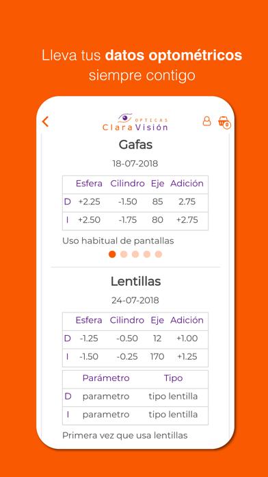 Ópticas ClaraVisión screenshot three