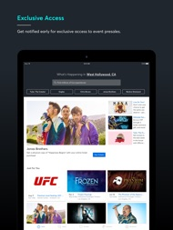 Ticketmaster-Buy, Sell Tickets ipad images