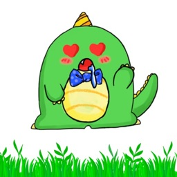 胖绿龙 - Fat  Dragon Sticker