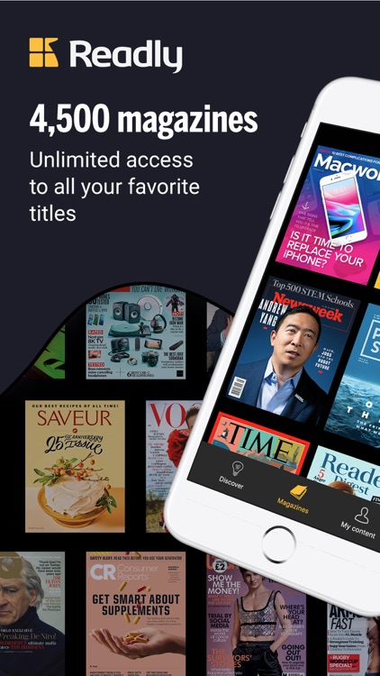 Readly - Unlimited Magazines screenshot-0