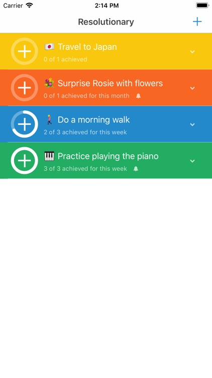 Resolutionary - Habit Tracker