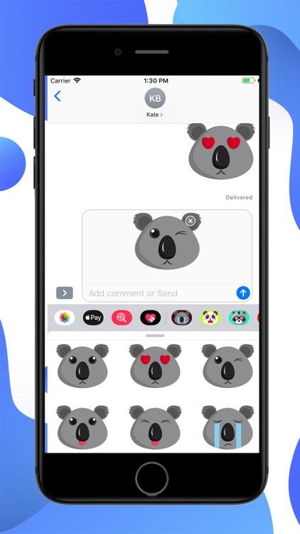 Koala Cartoon Stickers