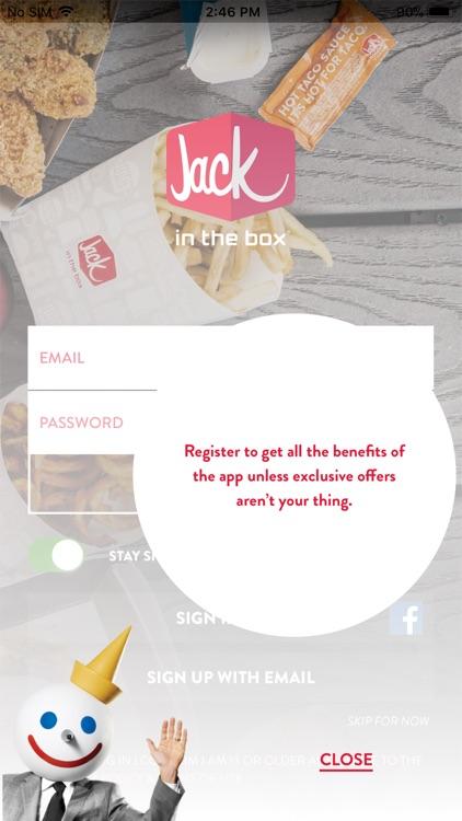 Jack in the Box® screenshot-0