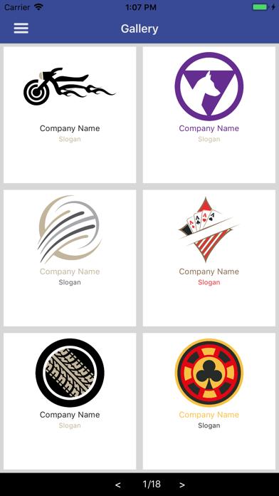 Easy Logo Maker - DesignMantic screenshot two