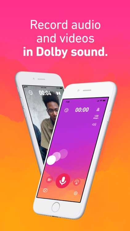 Dolby On: Record Audio & Video screenshot-0