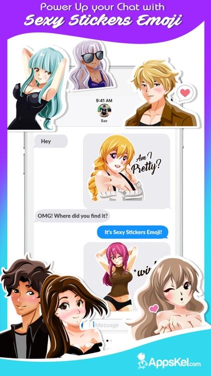 A Sexy Anime Emoji Stickers