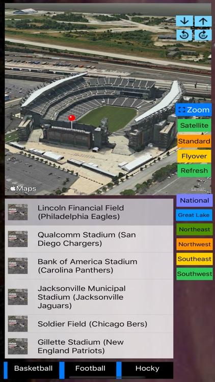 Sport Stadiums Pro - 3D Cities screenshot-6
