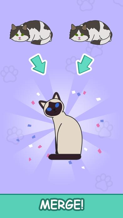 Cats Tower - Merge Kittens 2 screenshot one