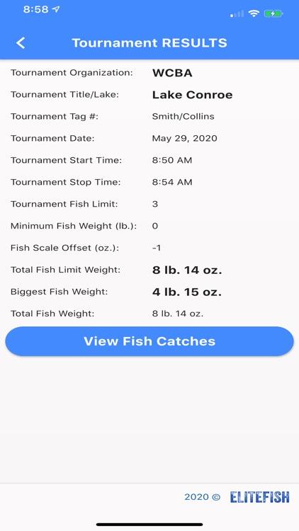 EliteFish Tournament Pro screenshot-6