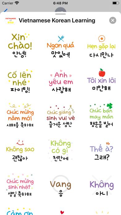 Vietnamese Korean Learning screenshot 3
