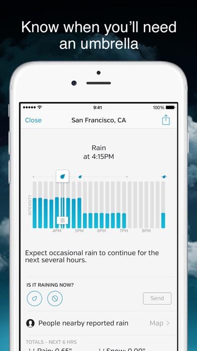 Weather Underground Screenshot
