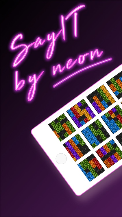 Neon texts - Say IT! by neon screenshot-3